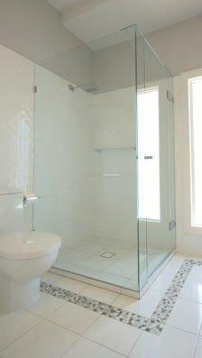 Frameless showers screens Gold Coast