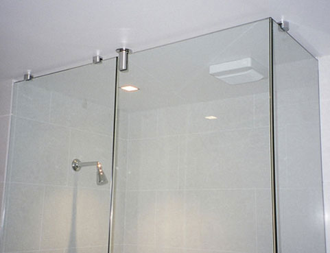 Semi Frameless shower screen Brisbane Qld