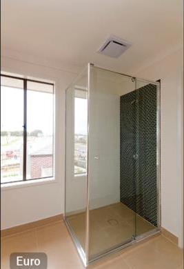 framed glass shower screen
