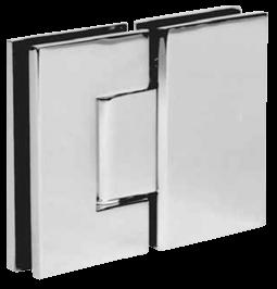 frameless square hinge