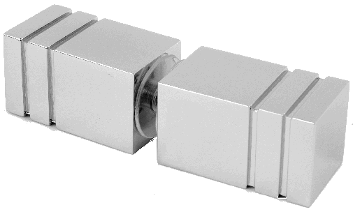 frameless square knob