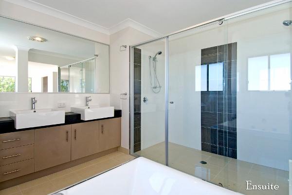 semi frameless shower screens