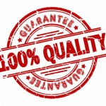 quality guaranteed stamp